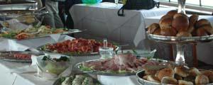 Lunchbuffet bij Middagrondvaart
